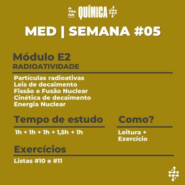 MED | Semana #05