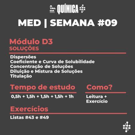 MED | Semana #09