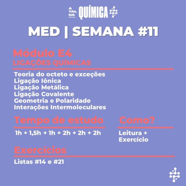 MED | Semana #11