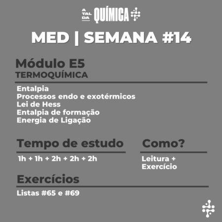 MED | Semana #14