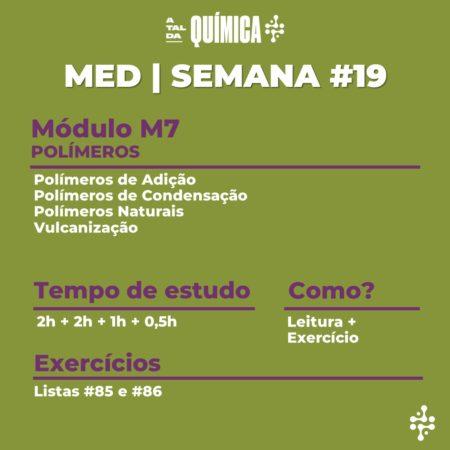 MED | Semana #19